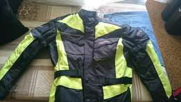 Bikers jacket, like new. Size XL
