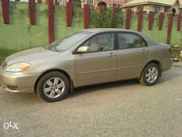 Very clean, 100% accident free 2004 model corolla with very moderate m
