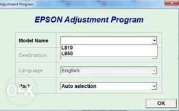 Epson resseter softwares