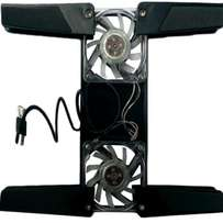 Portable duo cooling fan for Laptops