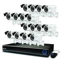 DIY 16 Channel CCTV Kit with internet remote viewing