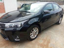 2014 Toyota corolla bought brand new