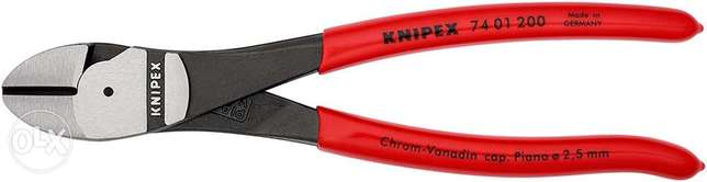 KNIPEX High Leverage Diagonal Cutter (200 mm) 74 01 200 SB (Product on