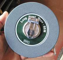 Steel Measuring (Ft) Tape 50M