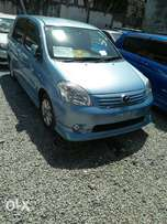 Toyota Raum sky blue colour fully loaded.