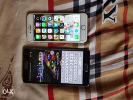 IPhone 6 16gig for sale and Samsung Galaxy Note edge 32gig for sale..