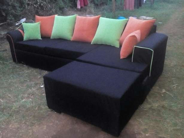 Black couch Eldoret East - image 1