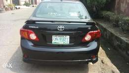 Super clean Toyota corolla sports 2009 model accident free LGS cleared