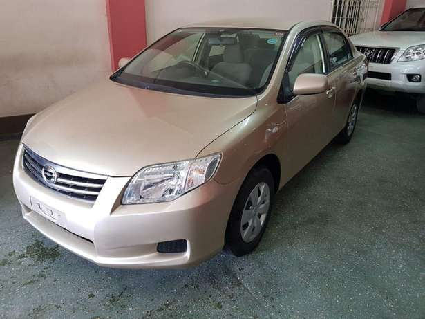 Toyota Axio Gold colour KCP number 2010 model loaded with alloy r Mombasa Island - image 5