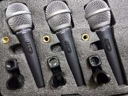 Wharfedale pro DM2.0 Microphones 3 pack
