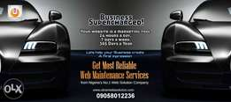 Let's Make Your Website Business charged. Get Reliable Web Maintenance
