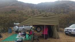 Venter bushbaby Trailer with howling moon tent