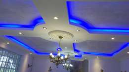 GYPSUM ceilings and partitions by Azizi Kenya Interiors