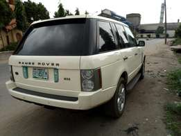 A year old 2008 Range Rover