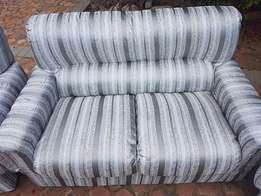 Grafton Everest Gorgeous Lounge suite - Silver & Grey 6 seater set