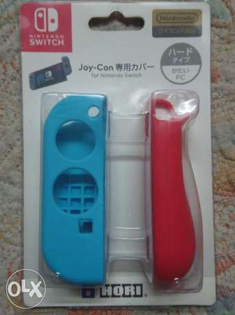 Nintendo Switch Joy-con soft cover (Red and Blue) [Hori]