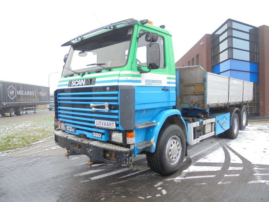 Scania 113h380 6x2 / Full Steel / Manual / Euro 2 - 1996
