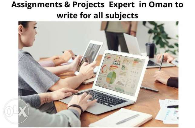 Assignments & Projects Expert to write for all subjects