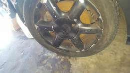 VR6 rims and tires