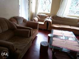 2-3 seater and 4 single sofasets