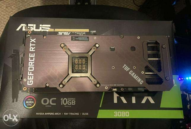 ASUS TUF Gaming GeForce RTX 3080 OC Video Card Graphics Card