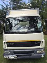 DAF truck - With tracking device