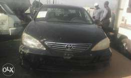 Direct Tokunbo Toyota Camry 2005 Black