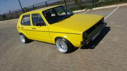 Golf MK1 Old School Urgent Sale