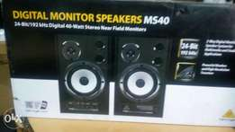 Ms40 studio monitor speakers