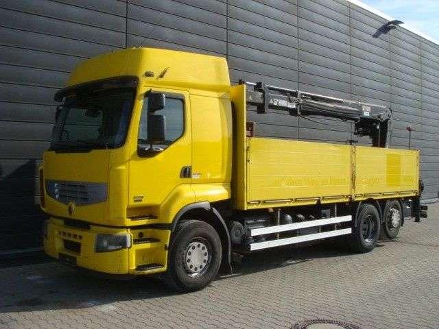 Renault Premium 450 6x2 Hiab-kran Mit Steinzange Euro5 - 2007