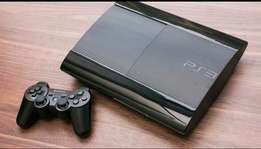 Ps3 gaming console .500gb chipped wit 5games.plus one pad.Thank you