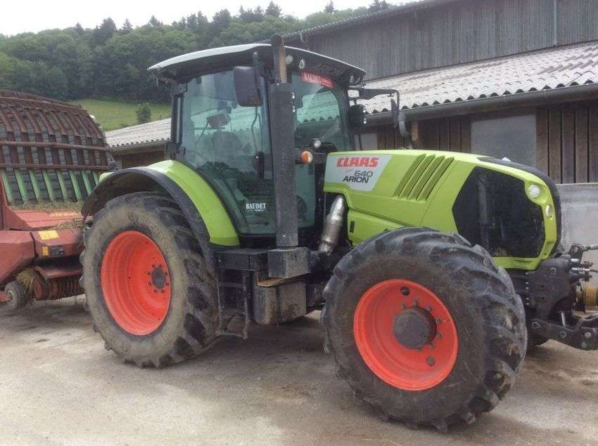 Claas arion 640 cis - 2012