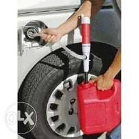 Fuel siphon pump- battery operated