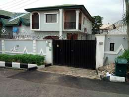 Bank / Consent Sale in Omole phase1 5 Bedroom semi detached duplex