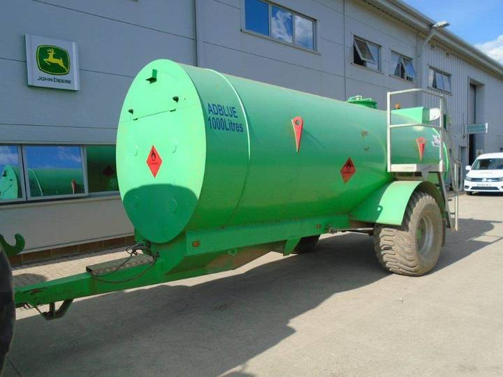 Fuelproof Site Tow 9000ltr - 2017