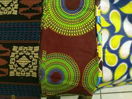 Traditional African print materials