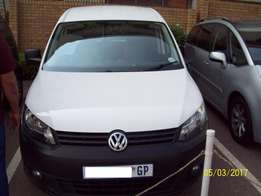 2013 Volkswagen Caddy 2.0 TDi Maxi Panel Van Manual