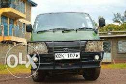 Toyota hiace ex-tour clean and fully compliant