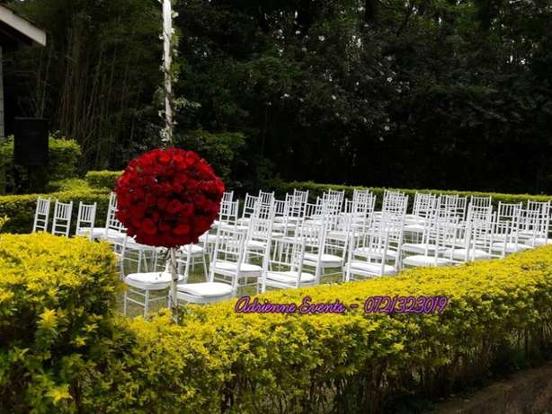 Hexagon tent, Foldable Chairs, Chiavari and Decor Services Westlands - image 5