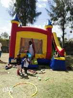 big and smart bouncing castles,waterslide,trampoline mascots and facep