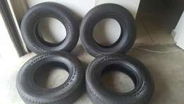 4 Tyres. Continental CROSS Contact LX 255/60/R16