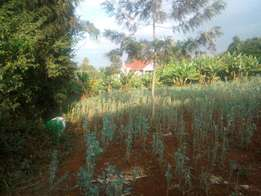 3/4 of an acre with a private drive in Muthaiga