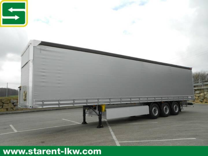 Schmitz Cargobull Tautliner, Hubdach, Lifachse, Palettenkasten,NEU - 2019