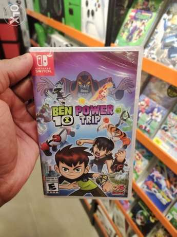 Ben10 Power Trip Nintendo Switch Game Available Now