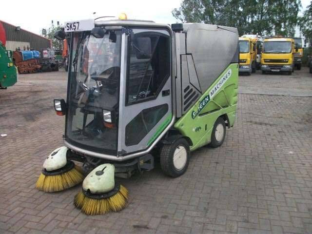 Green machine 636 road sweeper - 2007