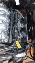 Lexus v8 1uz-fe complete motor and automatic box ,