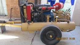 Tow behind compressor for sale