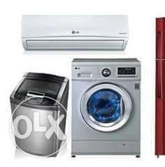 All type of washing machines and dryers repairing services