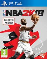 NBA 2018 for PS4