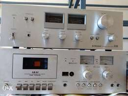 Power amp and deck